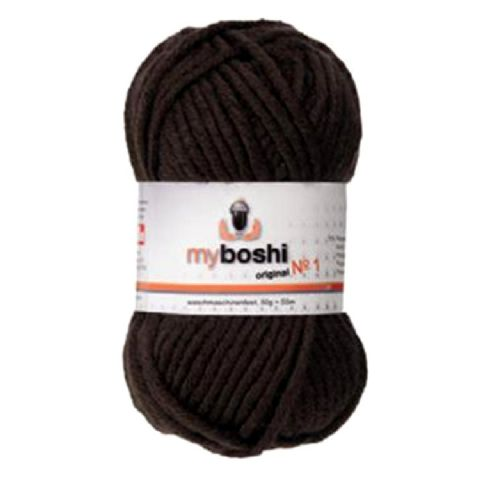 Cocoa Brown 174 - Wool Balls 50g For DMC Myboshi Beanie Hats